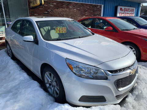 2015 Chevrolet Malibu for sale at BURNWORTH AUTO INC in Windber PA