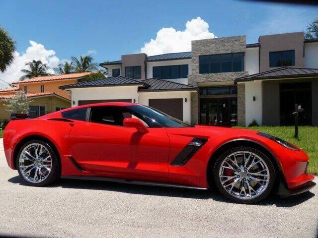 2018 Chevrolet Corvette for sale at Lifetime Automotive Group in Pompano Beach FL