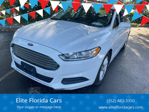 2015 Ford Fusion for sale at Elite Florida Cars in Tavares FL