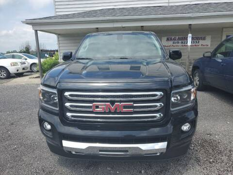2020 GMC Canyon for sale at K & G Auto Sales Inc in Delta OH