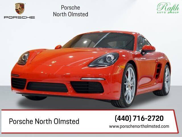 2019 Porsche 718 Cayman for sale at Porsche North Olmsted in North Olmsted OH
