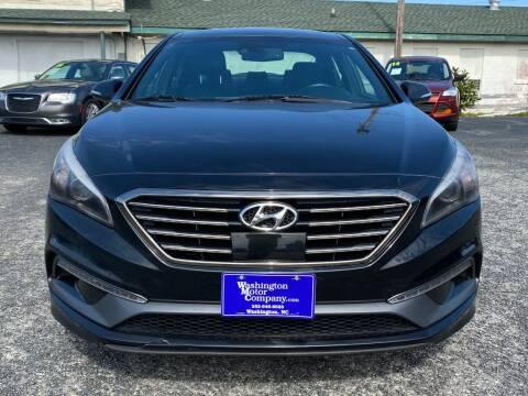 2013 Hyundai Sonata for sale at Washington Motor Company in Washington NC