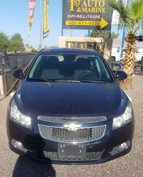 2014 Chevrolet Cruze for sale at 1ST AUTO & MARINE in Apache Junction AZ