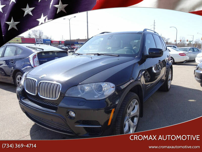 2012 BMW X5 for sale at Cromax Automotive in Ann Arbor MI