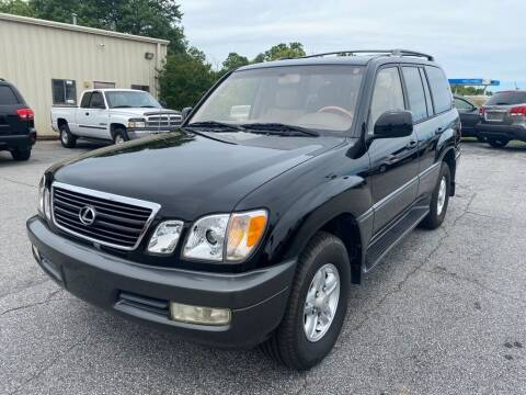 2000 Lexus LX 470 for sale at Brewster Used Cars in Anderson SC