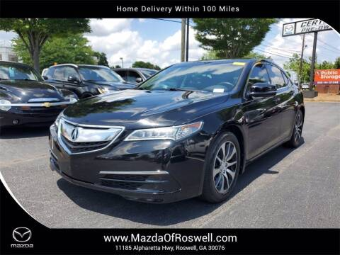 2016 Acura TLX for sale at Mazda Of Roswell in Roswell GA