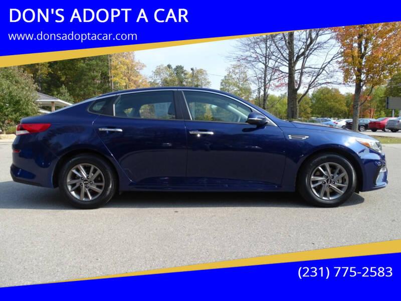 2020 Kia Optima for sale at DON'S ADOPT A CAR in Cadillac MI