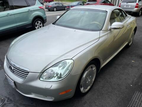 2004 Lexus SC 430 for sale at MIRACLE AUTO SALES in Cranston RI