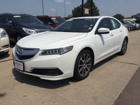 2015 Acura TLX for sale at De Anda Auto Sales in South Sioux City NE