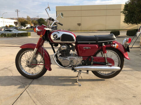 1970 Honda CB175 for sale at HIGH-LINE MOTOR SPORTS in Brea CA