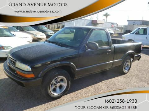 2003 Chevrolet S-10 for sale at Grand Avenue Motors in Phoenix AZ
