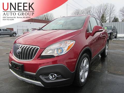 2015 Buick Encore for sale at Uneek Auto Group LLC in Burton MI