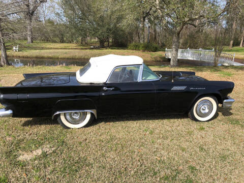 1957 Ford Thunderbird E Code for sale at Bayou Classics and Customs in Parks LA