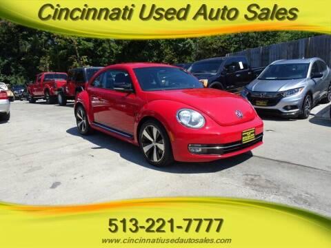 2012 Volkswagen Beetle for sale at Cincinnati Used Auto Sales in Cincinnati OH