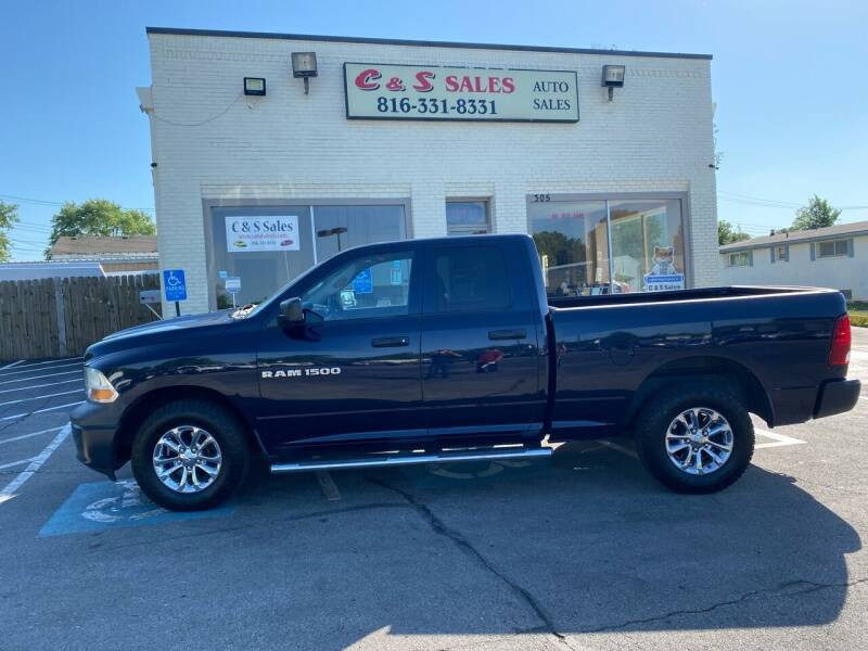 2012 RAM Ram Pickup 1500 for sale at C & S SALES in Belton MO