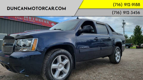 2010 Chevrolet Avalanche for sale at DuncanMotorcar.com in Buffalo NY