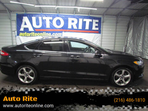 2013 Ford Fusion for sale at Auto Rite in Cleveland OH