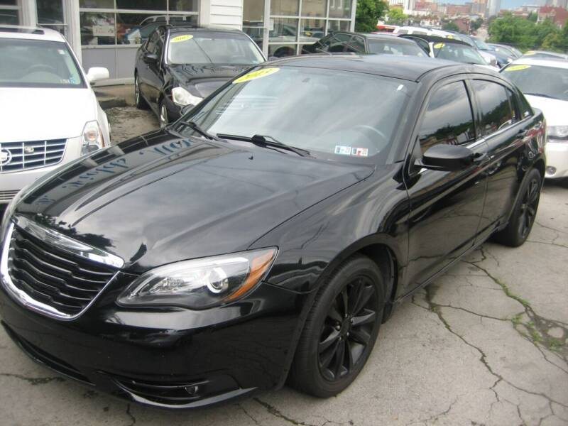 2013 Chrysler 200 for sale at B. Fields Motors, INC in Pittsburgh PA
