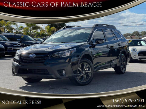 2020 Subaru Outback for sale at Classic Cars of Palm Beach in Jupiter FL