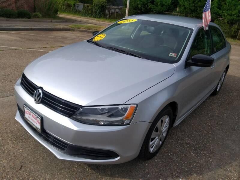 2013 Volkswagen Jetta for sale at Hilton Motors Inc. in Newport News VA