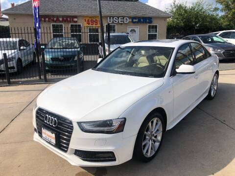 2014 Audi A4 for sale at DYNAMIC CARS in Baltimore MD