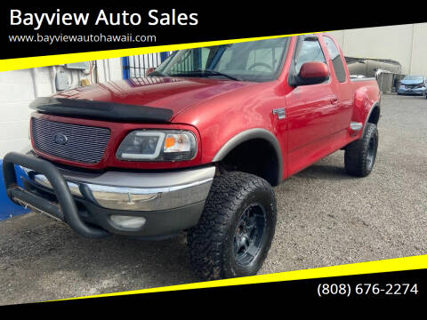 2003 Ford F-150 for sale at Bayview Auto Sales in Waipahu HI