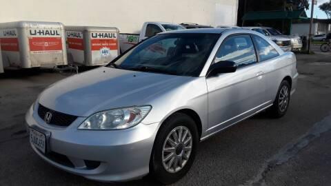 2004 Honda Civic for sale at Goleta Motors in Goleta CA