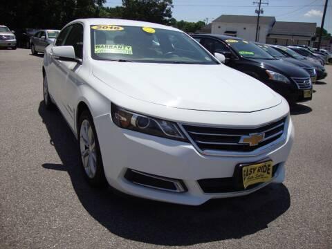 2016 Chevrolet Impala for sale at Easy Ride Auto Sales Inc in Chester VA