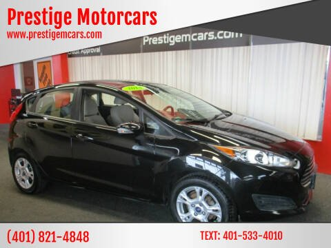 2014 Ford Fiesta for sale at Prestige Motorcars in Warwick RI