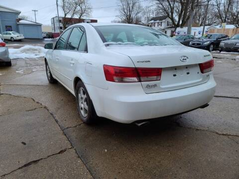 2007 Hyundai Sonata for sale at LOT 51 AUTO SALES in Madison WI