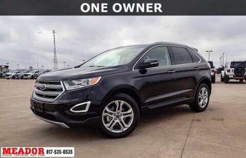 2017 Ford Edge for sale at Meador Dodge Chrysler Jeep RAM in Fort Worth TX
