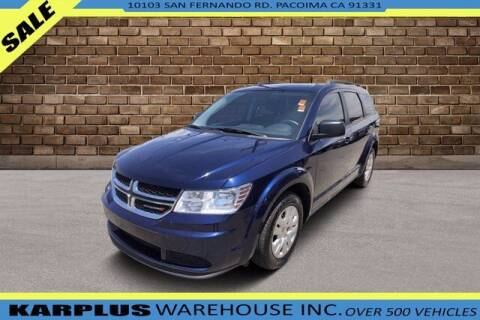 2017 Dodge Journey for sale at Karplus Warehouse in Pacoima CA