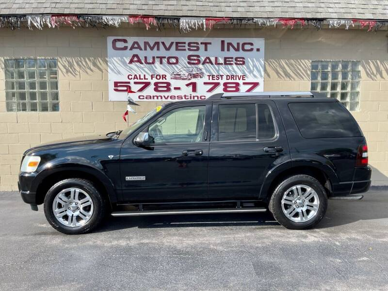 2008 Ford Explorer for sale at Camvest Inc. Auto Sales in Depew NY