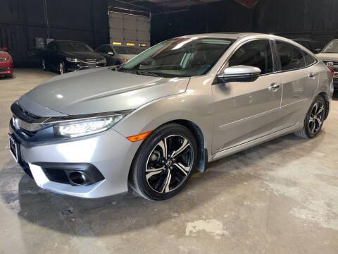 2016 Honda Civic for sale at Safe Trip Auto Sales in Dallas TX
