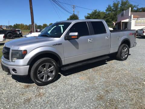 2013 Ford F-150 for sale at Clayton Auto Sales in Winston-Salem NC