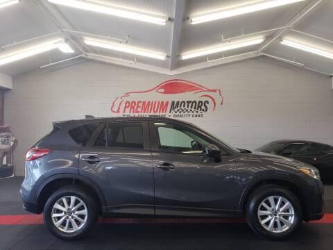 2014 Mazda CX-5 for sale at Premium Motors in Villa Park IL