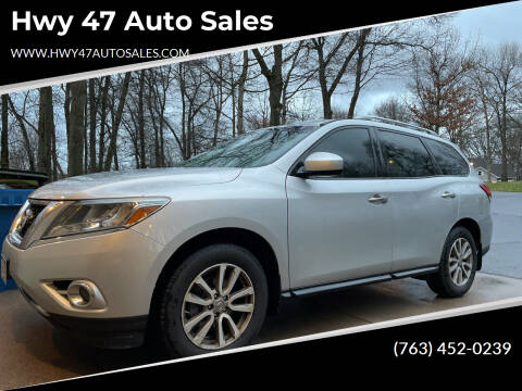 2016 Nissan Pathfinder for sale at Hwy 47 Auto Sales in Saint Francis MN