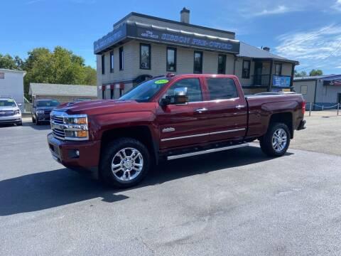 2017 Chevrolet Silverado 2500HD for sale at Sisson Pre-Owned in Uniontown PA