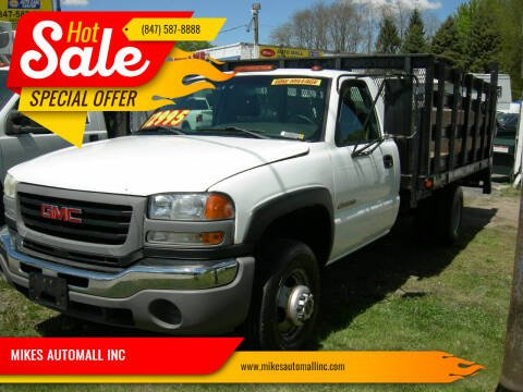 2005 GMC Sierra 3500 for sale at MIKES AUTOMALL INC in Ingleside IL