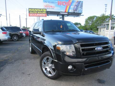 2010 Ford Expedition for sale at Hanna's Auto Sales in Indianapolis IN