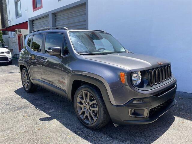 2016 Jeep Renegade for sale at Prado Auto Sales in Miami FL