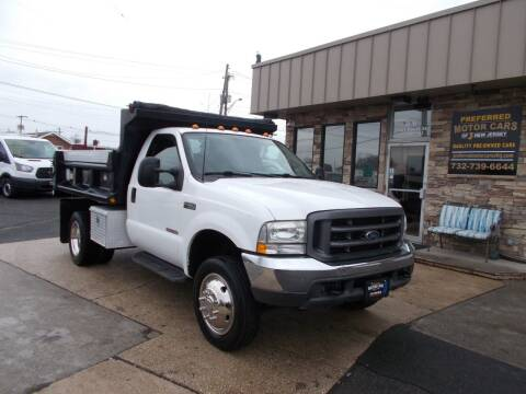 2003 Ford F-450 Super Duty for sale at Preferred Motor Cars of New Jersey in Keyport NJ
