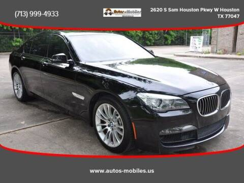 2013 BMW 7 Series for sale at AUTOS-MOBILES in Houston TX