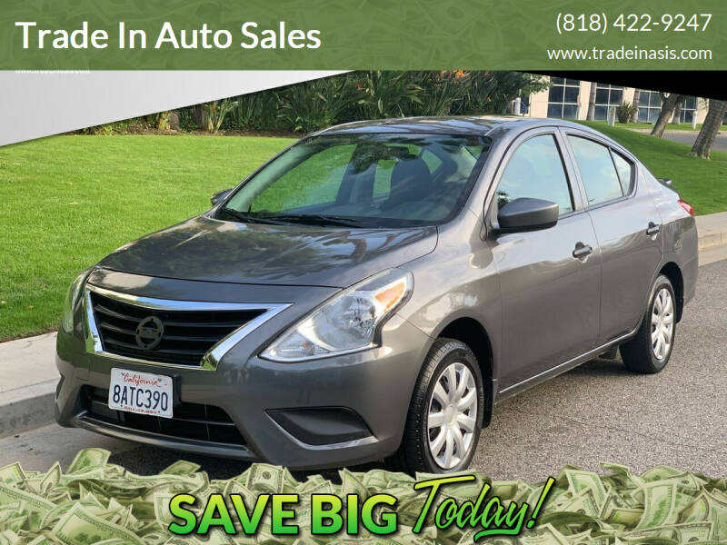 2017 Nissan Versa for sale at Trade In Auto Sales in Van Nuys CA