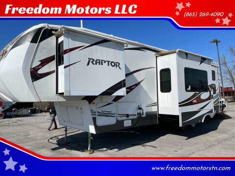 2012 Keystone Raptor Toy Hauler 300MP for sale at Freedom Motors LLC in Knoxville TN