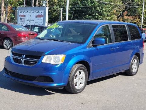 2011 Dodge Grand Caravan for sale at United Auto Service in Leominster MA