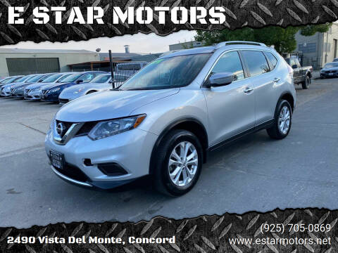 2014 Nissan Rogue for sale at E STAR MOTORS in Concord CA