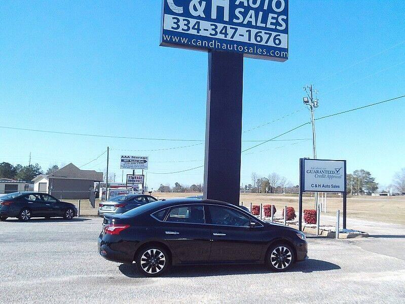 2019 Nissan Sentra for sale at C & H AUTO SALES WITH RICARDO ZAMORA in Daleville AL