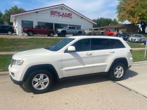 2012 Jeep Grand Cherokee for sale at Efkamp Auto Sales LLC in Des Moines IA