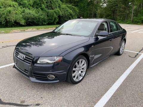 2012 Audi A4 for sale at Broadway Motor Sales and Auto Brokers in North Chelmsford MA